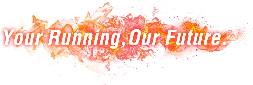 Your Running,Our Future.